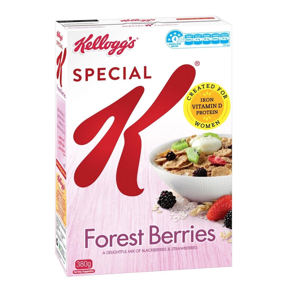 家樂氏Special K森林野莓香脆麥米片(380g)
