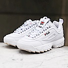 FILA DISRUPTOR復古運動鋸齒鞋-白 4-C608S-125