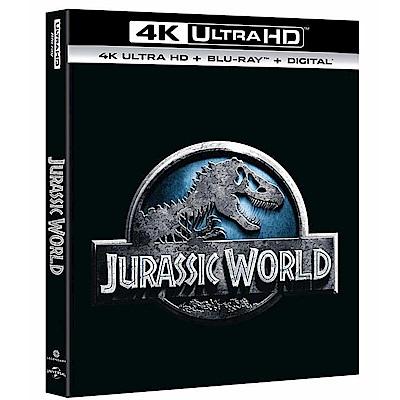 侏儸紀世界 UHD + BD 雙碟版  藍光 BD