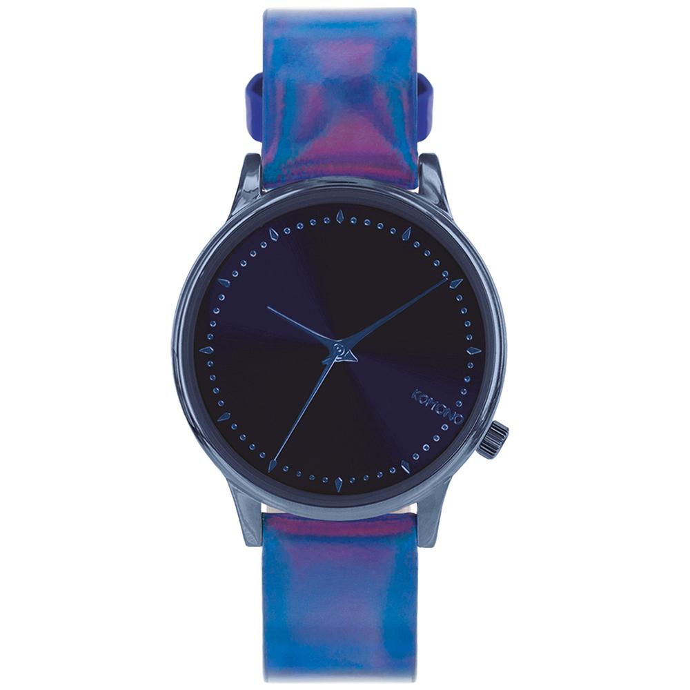 KOMONO Estelle Iridescent 腕錶-藍調/36mm