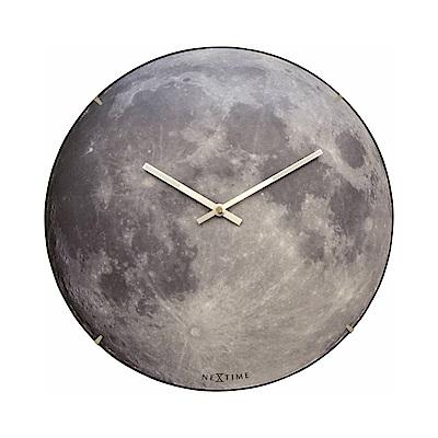賽先生科學 夜光月球時鐘(暗夜藍)