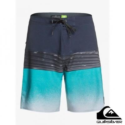 【 QUIKSILVER】HIGHLINE HOLD DOWN 20 衝浪褲 藍綠色