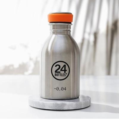 義大利 24Bottles 輕量冷水瓶250ml-不鏽鋼