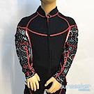 澳洲Sunseeker泳裝女童長袖專業衝浪潛水防寒衣-全拉鍊上衣
