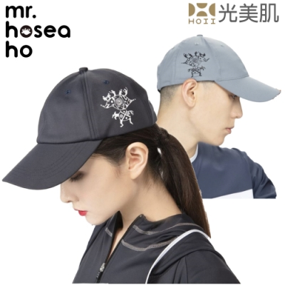 HOII光美肌-后益MR.HOSEA HO運動機能涼感防曬抗UV時尚棒球帽HO28-2色