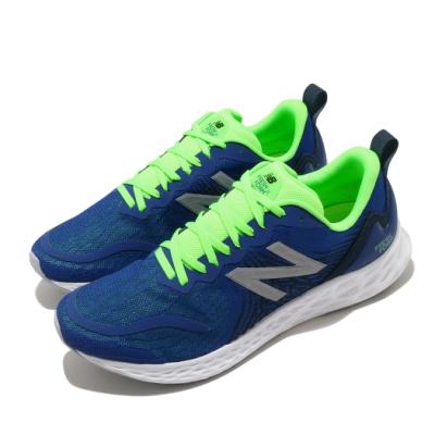 New Balance 慢跑鞋 Fresh Foam 寬楦 運動 男鞋 紐巴倫 輕量 透氣 舒適 避震 路跑 藍 綠 MTMPORY2E