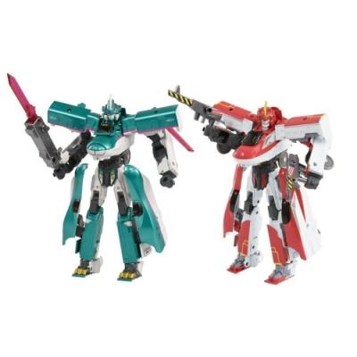任選日本 DXS01 E5隼號+DXS02 E6 小町號新幹線變形機器人組合包+ 鐡道王國