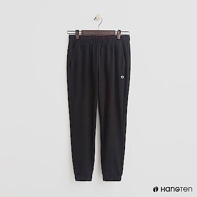Hang Ten - 女裝 - ThermoContro-側腰鬆緊機能束口褲-黑