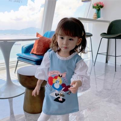 小衣衫童裝 秋款女童愛麗絲娃娃款連身裙洋裝1080948