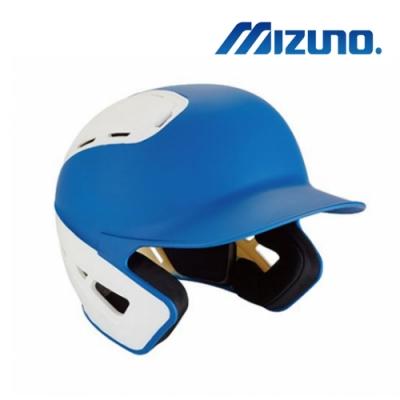 MIZUNO 硬式棒球用打擊頭盔 寶藍x白 380385.5200