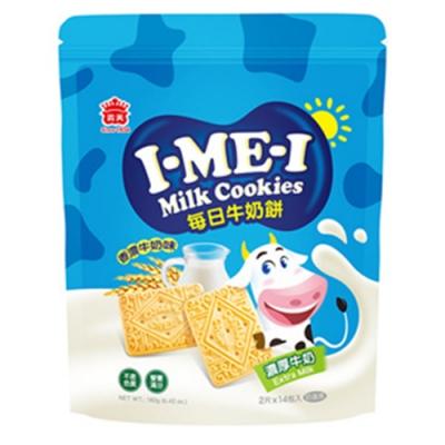 義美 每日牛奶餅-濃厚牛奶(182g)