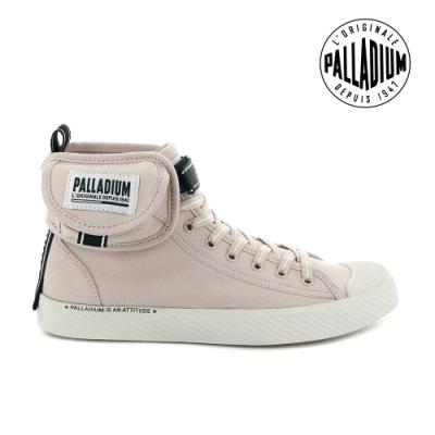 PALLADIUM PALLAPHOENIX 高筒帆布鞋-女-玫瑰粉