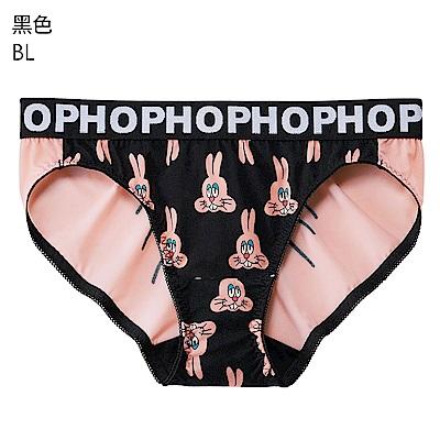 aimerfeel 單品內褲 兔兔HOP三角褲 單品內褲-962321-BL