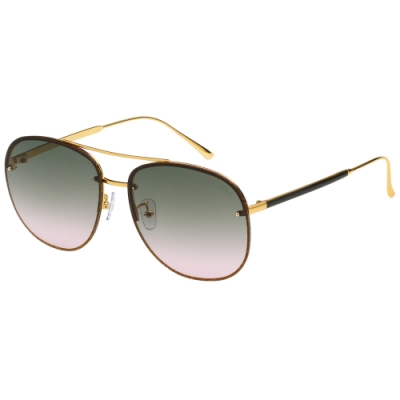 VEDI VERO 潤色系列 金蔥 太陽眼鏡(咖啡配金)