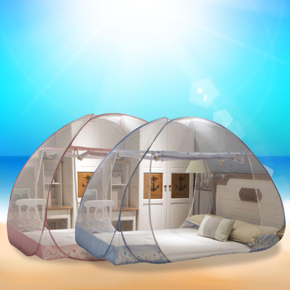 USAY 免安裝 雙開門式蚊帳 雙人-兩入裝