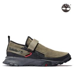 Timberland 男款黑色絨面革系帶鞋|A24S9