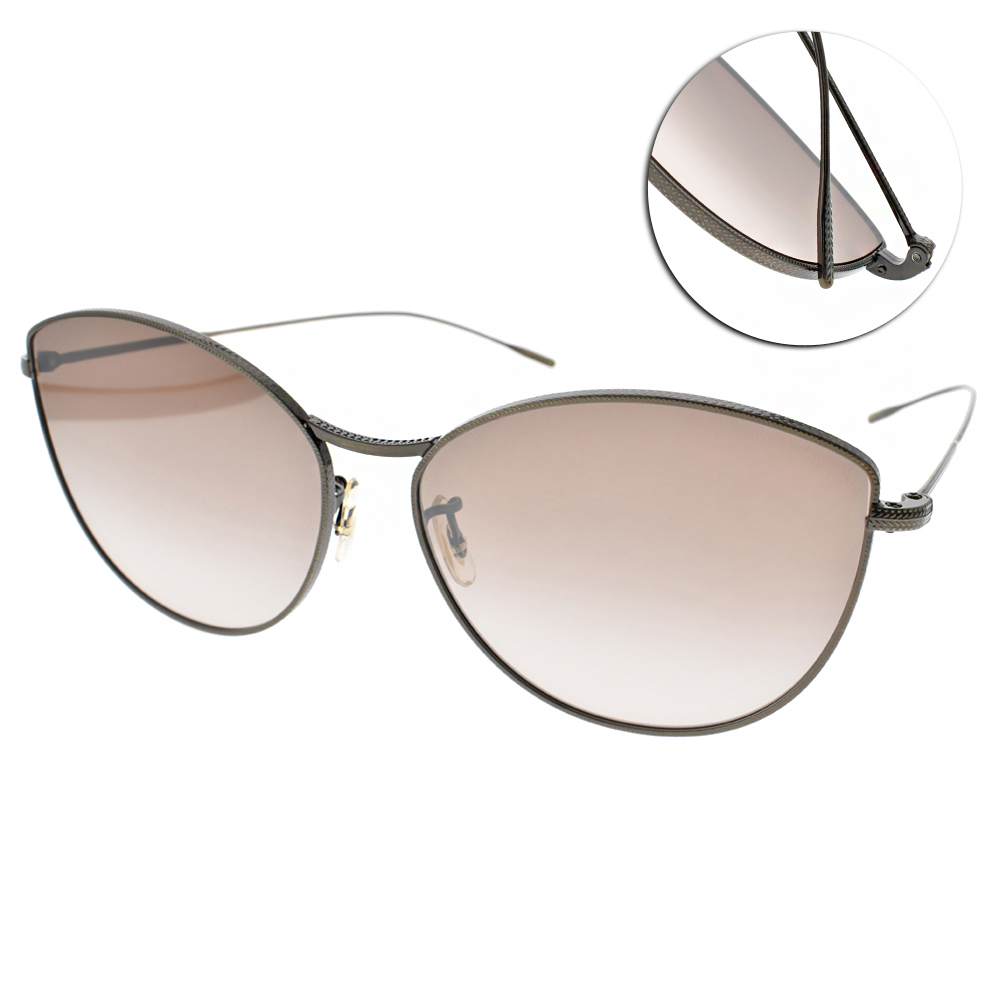 OLIVER PEOPLES墨鏡 歐美時尚貓眼/銅-淡水銀#RAYETTE 5284B8