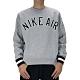 Nike AS M NSW NIKE AIR CREW FLC 男長袖上衣 灰-AR1823063 product thumbnail 1