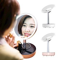 LYL-LED化妝鏡 USB充電調整亮度補光檯燈夜燈