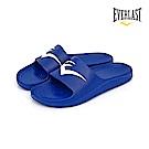 EVERLAST 品牌經典LOGO拖鞋-女-藍