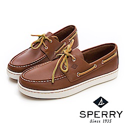 SPERRY 紳士風尚時尚經典帆船鞋(男)-棕色