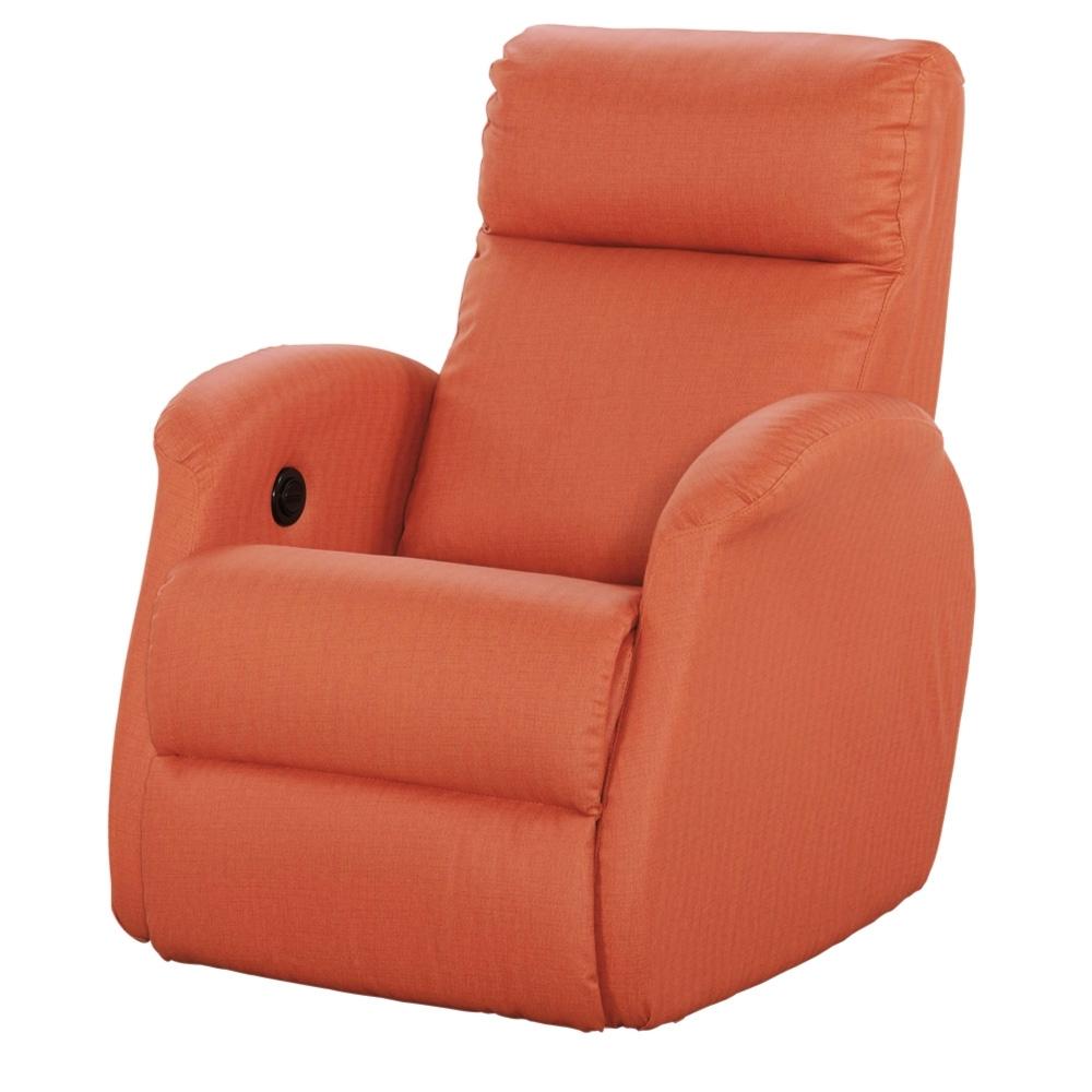 文創集 柯拉亮彩紅皮革單人電動沙發椅-78x86x102cm免組