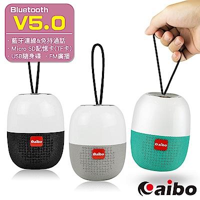 aibo BT-L07 多功能攜帶式 藍牙V5.0無線喇叭(TF卡/隨身碟/FM)