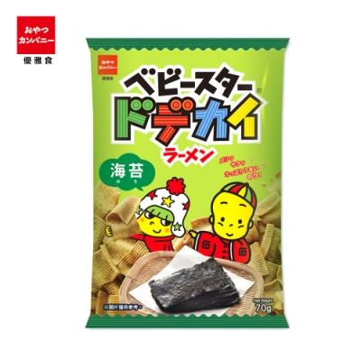 OYATSU優雅食 超寬條餅-海苔口味(70g)