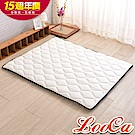 (週年慶限定)LooCa 3M防潑水技術-超厚8cm兩用日式床墊-加大6尺