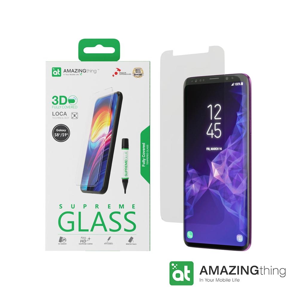 AMAZINGthing 三星 Galaxy S9+/S8+滿版強化玻璃保護貼(LOCA) @ Y!購物