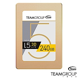 TEAM十銓 L5 Lite 3D 240GB 2.5吋 SSD固態硬碟