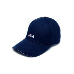 FILA 時尚LOGO帽-丈青 HTU-5004-NV