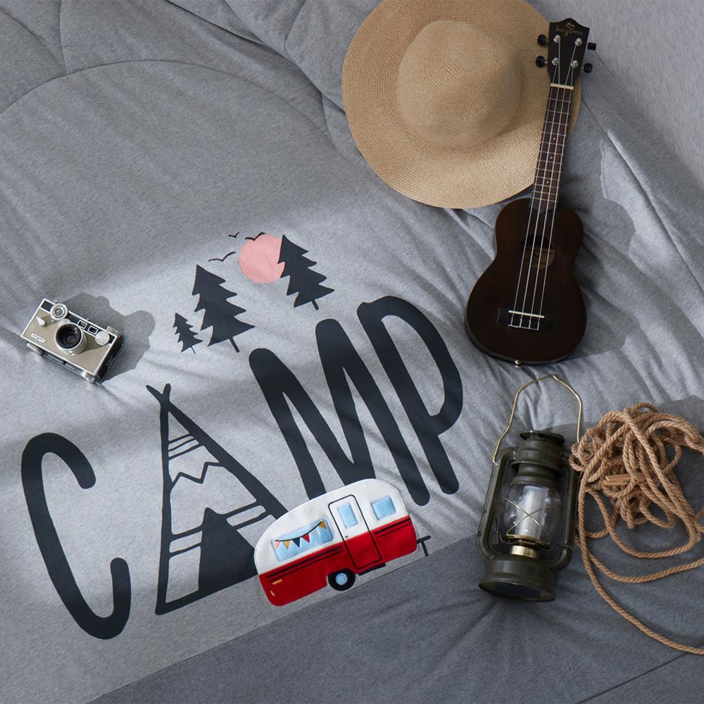 YVONNE COLLECTION 露營車雙人四季被(6x7呎)