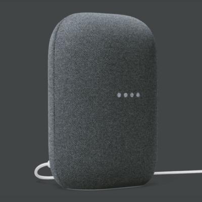 Google Nest Audio 智慧音箱(石墨黑) 在地中文內容 聲控播歌/新聞 聲控智慧家電