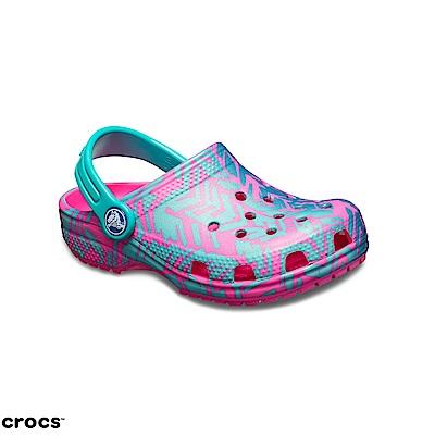 Crocs 卡駱馳 (童鞋) 圖紋克駱格 204816-6L0