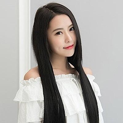 米蘭精品 假髮片真髮絲-3夾60cm加厚直髮女假髮母親節禮物73uh31