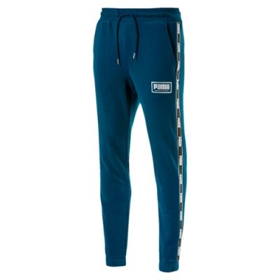 PUMA-男性基本系列Holiday長褲-直布羅陀海藍-歐規