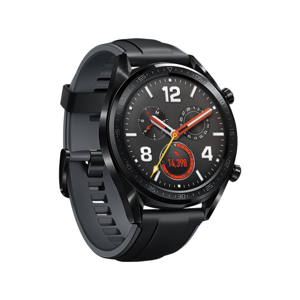 HUAWEI WATCH GT 黑色(曜石黑矽膠錶帶)智慧手錶 @ Y!購物