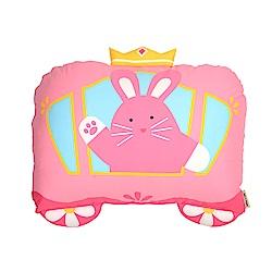 Milo&Gabby 動物好朋友-大枕頭套(公主兔兔)