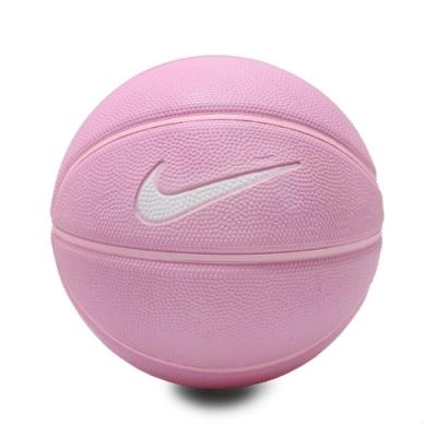 Nike 兒童籃球 Skill 3 Basketball 童款 3號球 小朋友 運動 橡膠 耐磨 粉 白 N000128565503