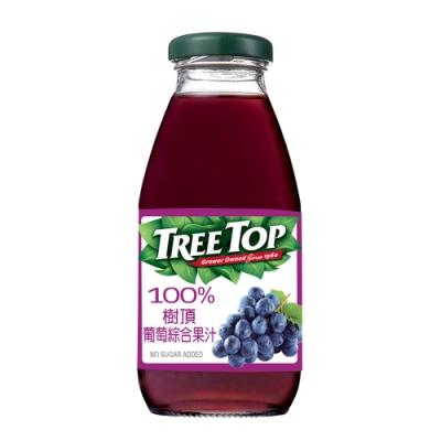 【TreeTop】樹頂葡萄綜合果汁(300mlx24瓶)