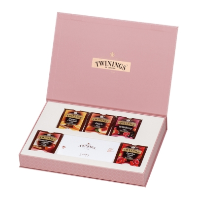唐寧茶 藝術家禮盒-清氛花茶系列(20茶包)