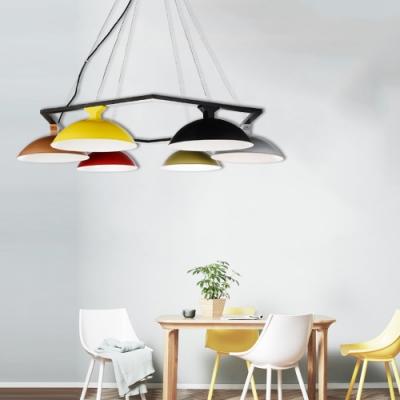 H&R安室家  卡農六燈吊燈