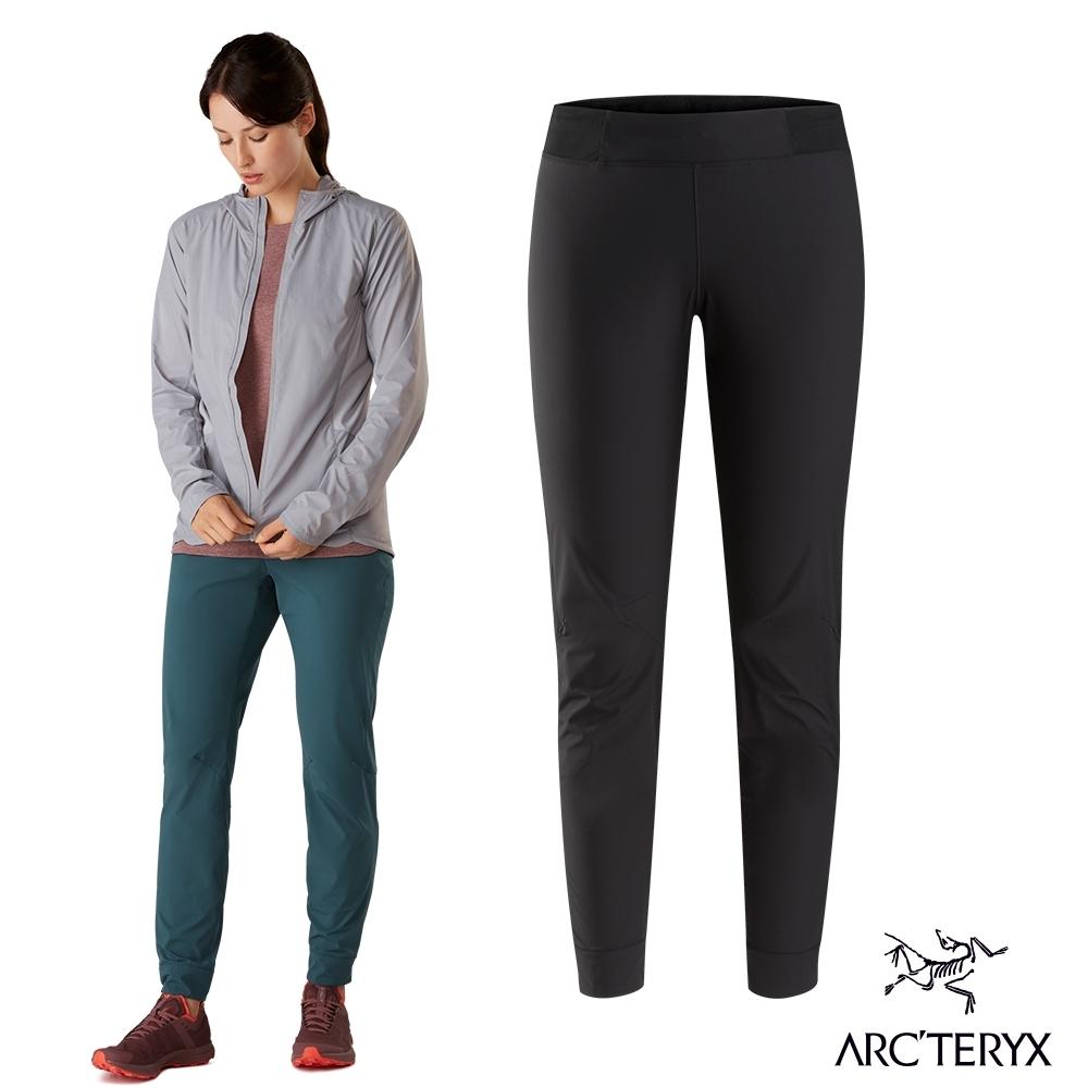 Arcteryx 始祖鳥 女 Cita 防潑水 彈性長褲 黑