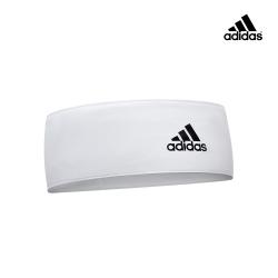 adidas愛迪達 專業訓練止滑頭帶(白)