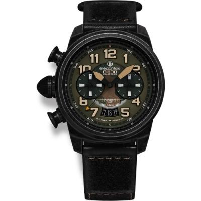 elegantsis C130 中華民國軍事運輸機國軍版限量計時套錶-48mm