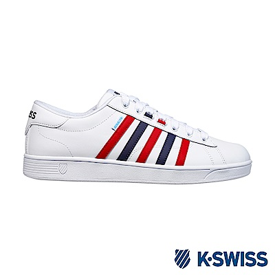 K-swiss Hoke CMF WP防水系列 休閒運動鞋-男-白/藍/紅