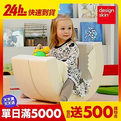 【韓國design skin】兒童圓形蛋糕沙發椅(變形球池樂園/書桌椅/寶寶沙發) caring