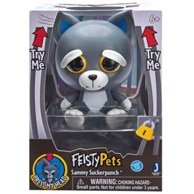 變臉娃娃 Feisty Pets 4吋公仔 -狗狗 Sammy Suckerpunch