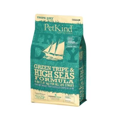 PetKind 野胃 天然鮮草肚貓糧 鮭鲱羊 4磅